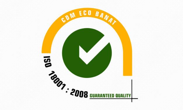 ISO 18001 : 2008 CDM ECO BANAT