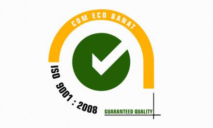 ISO 9001 : 2008 CDM ECO BANAT